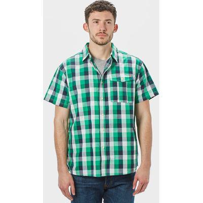 Peter Storm Men's Short Sleeve Travel Shirt - Green, Green