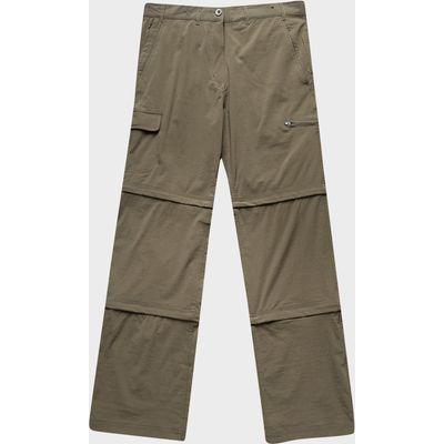Peter Storm Women's Stretch Double Zip Off Trousers - Regular - Green, Green