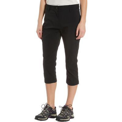 Peter Storm Women's Stretch Capri Pants - Black, Black