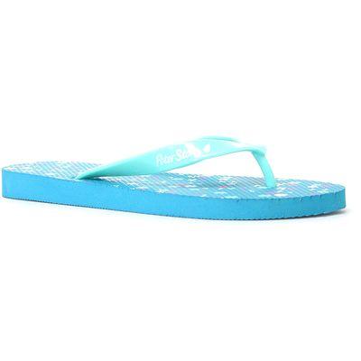 Peter Storm Women's Dotty Flip Flops - Blue, Blue