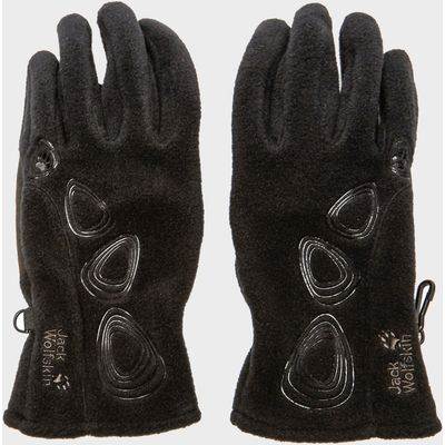 Jack Wolfskin Women's Pebbles Gloves - Black, Black