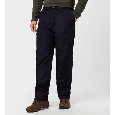 Craghoppers Men's Classic Kiwi Trousers - Blue, Blue