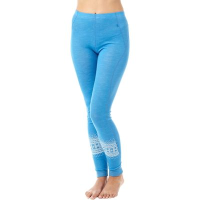 Helly Hansen Women's Warm Base Layer Bottoms - Blue, Blue