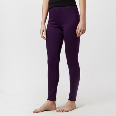 Peter Storm Women's Thermal Baselayer Pants - Purple, Purple