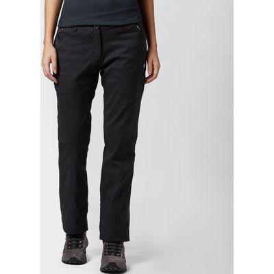 Craghoppers Women's Kiwi Stretch Lined Pants - Black, Black