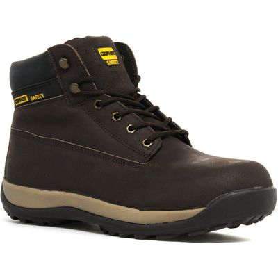 Gripfast Men's Brown Boot Thunder Industrial Shoes - Brown, Brown