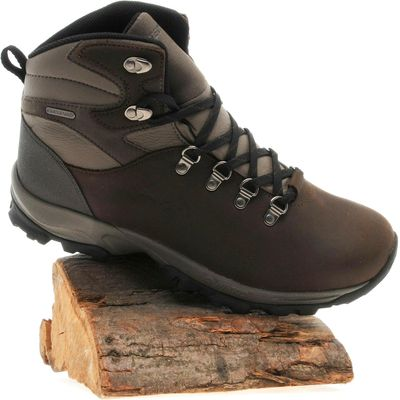 Hi Tec Men's Oakhurst Trail Hiking Boot - Brown, Brown