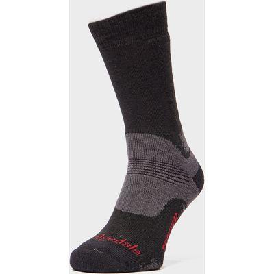 Bridgedale Men's Woolfusion Trekker Socks - Black, Black