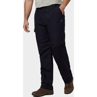 Craghoppers Men's Kiwi Zip Off Trousers - Blue, Blue