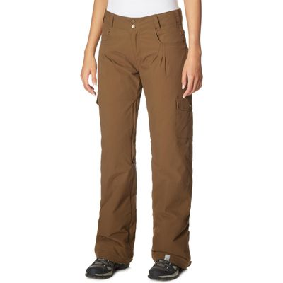 Roxy Women's Toboggan II Ski Pants - Brown, Brown