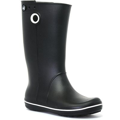 Crocs Women's Crocband Jaunt Wellies - Black, Black