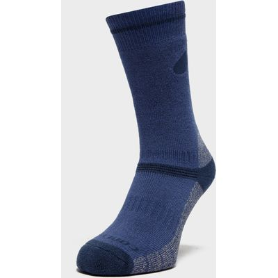 Peter Storm Women's Midweight Outdoor Socks - Twin Pack - Blue, Blue
