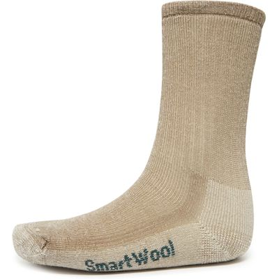 Smartwool Women's Hiking Medium Crew Socks - Beige, Beige