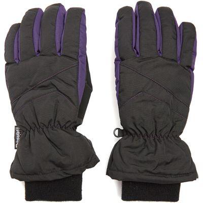 Peter Storm Women's Ski Gloves - Black, Black
