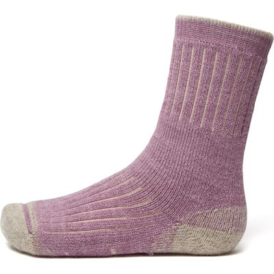 Brasher Women's Trekmaster Socks - Purple, Purple
