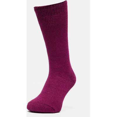 Heat Holders Women's Original Thermal Socks - Raspberry, Raspberry