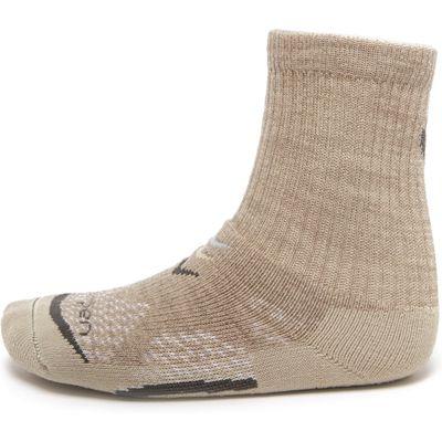 Lorpen Women's T3 Mid Weight Hiking Socks - Beige, Beige