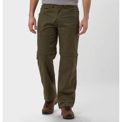 Peter Storm Men's Ramble Convertible Trousers - Long - Green, Green