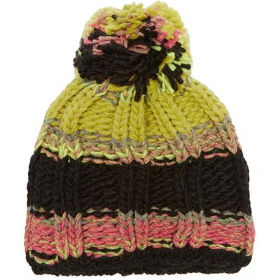 Starling Women's Stripe Bobble Beanie - Multi, Multi