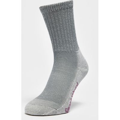 Smartwool Women's Hike Light Crew Socks - Grey, Grey