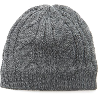 Sealskinz Women's Cable Knit Beanie - Grey, Grey