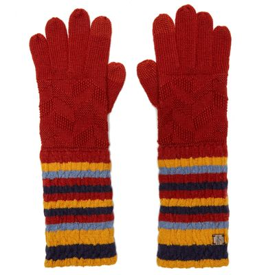Smartwool Women's Chevron Gloves - Multi, Multi