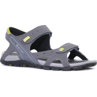 Hi Tec Men's Laguna Strap Sandal - Grey, Grey