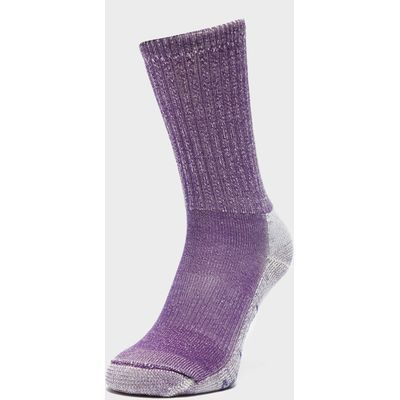 Smartwool Women's Hike Light Crew Socks - Purple, Purple