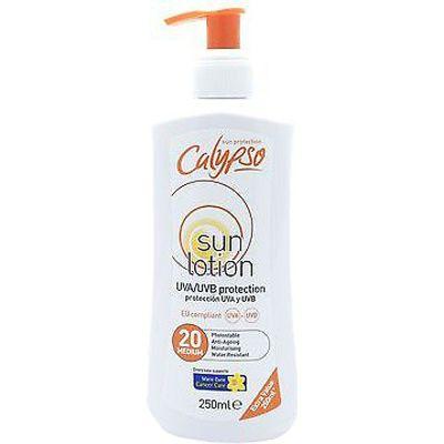 Calypso Sun Lotion SPF 20 Pump Bottle