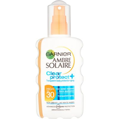 Garnier Ambre Solaire Clear Protect Sunscreen Spray SPF30