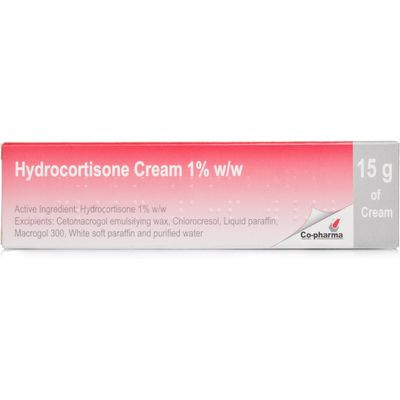 Hydrocortisone Cream (1%) for Inflamed & Irritated Skin