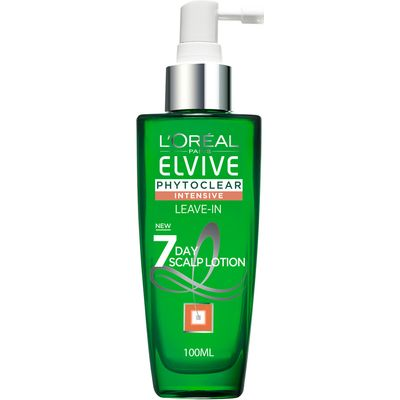 L'Oreal Paris Elvive Phytoclear Anti-Dandruff  7 Day Scalp Lotion 100ml