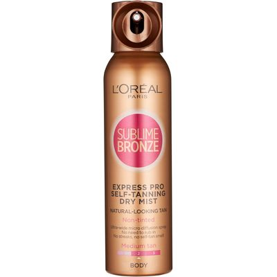 L'Oreal Paris Sublime Self-Tan Body Mist Medium