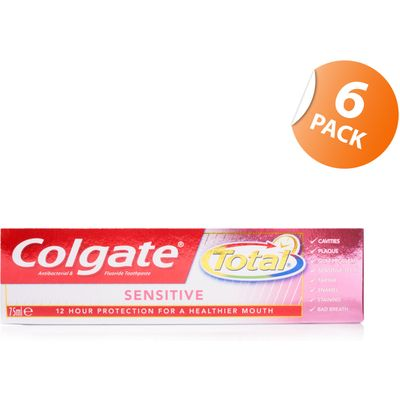 Colgate Total Sensitive Toothpaste - 6 Pack