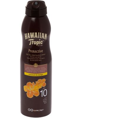 Hawaiian Tropic Protective Dry Oil Continuous SPF10 180ml