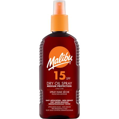 Malibu Dry Oil Spray SPF15