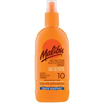 Malibu Sun Lotion Spray SPF10