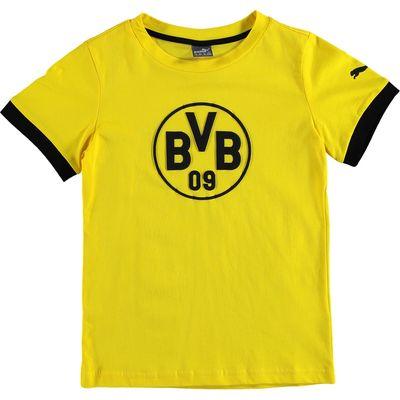 BVB Badge T-Shirt - Yellow - Kids, Yellow