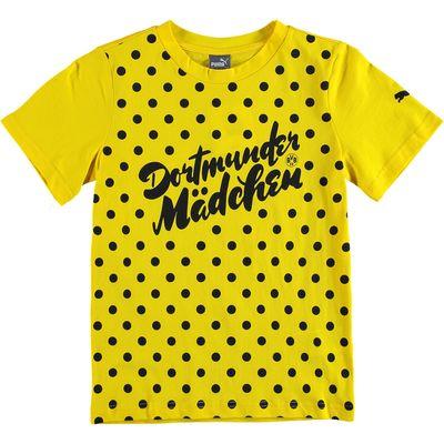 BVB Slogan T-Shirt - Yellow - Kids, Yellow