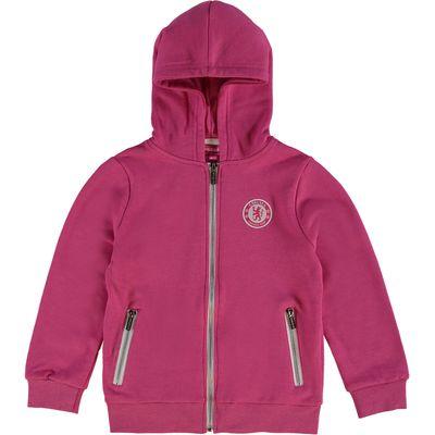 Chelsea Full Zip Fleece Hoodie - Pink - Older Girls, Pink