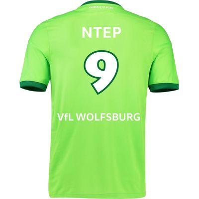 VfL Wolfsburg Home Shirt 2016-17 - Kids with Ntep 9 printing, Green