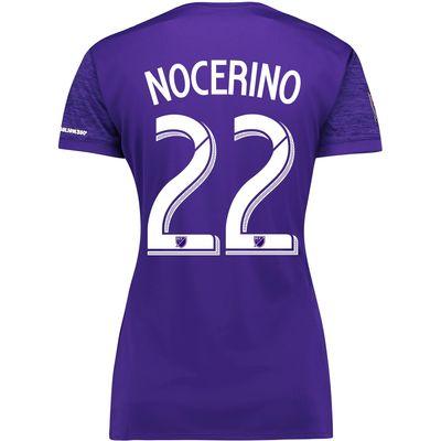 Orlando City SC Home Shirt 2017-18 - Womens with Nocerino 22 printing, Purple