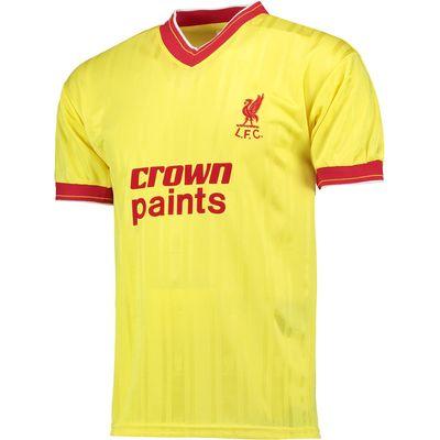 Liverpool 1986 Away Shirt, Yellow
