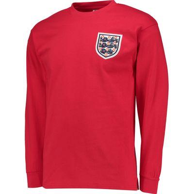 England 1966 World Cup Final Away No6 shirt, Red