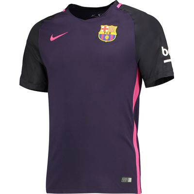 Barcelona Away Shirt 2016-17 - Kids, Purple