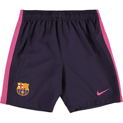 Barcelona Away Shorts 2016-17 - Kids, Purple