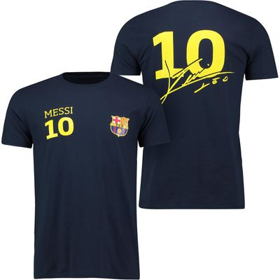 Barcelona 2016 Tour Player T-Shirt Messi 10 - Mens - Navy, Navy
