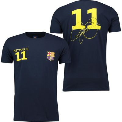 Barcelona 2016 Tour Player T-Shirt Neymar.Jr 11 - Mens - Navy, Navy