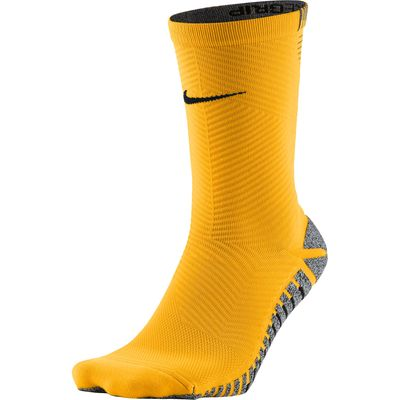 Nike Grip Strike Light Crew Football Socks - Laser Orange/Black, Black/Orange
