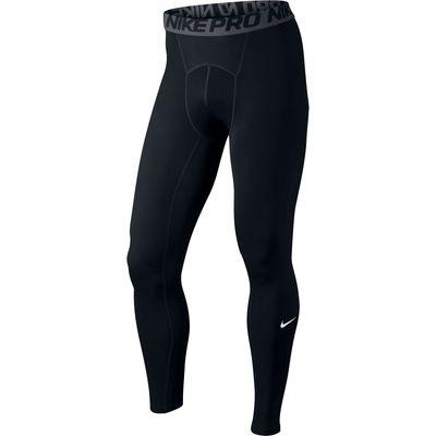 Nike Pro Combat Baselayer Tights - Black/Dark Grey/White, Black/White/Grey
